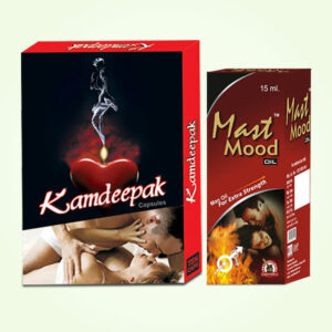 Kamdeepak Capsules and Mast Mood Oil