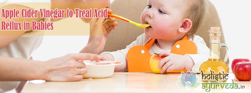 Apple Cider Vinegar to Treat Acid Reflux in Babies