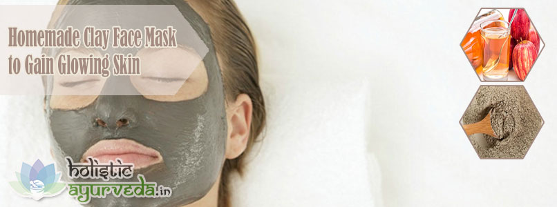 Clay Face Mask to Gain Glowing Skin